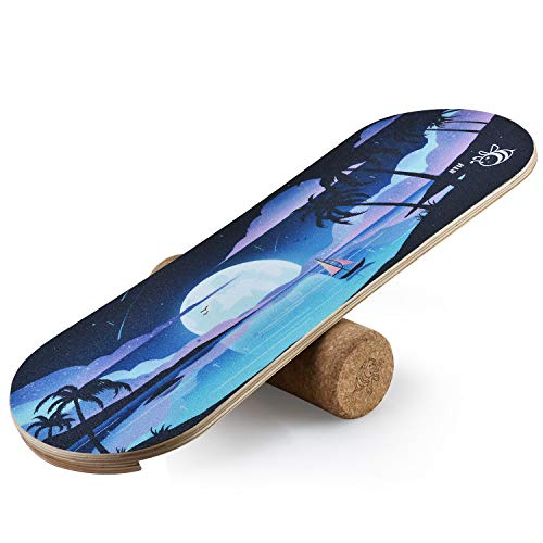4th Bee Core Balance Board with Roller