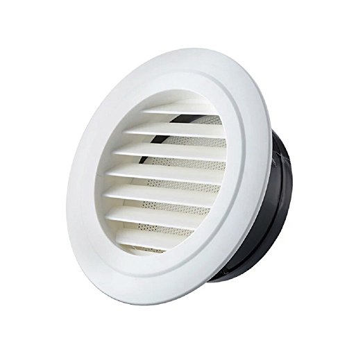 OOPPEN 100mm Diameter Round Air Vent Grille Cover Louver...