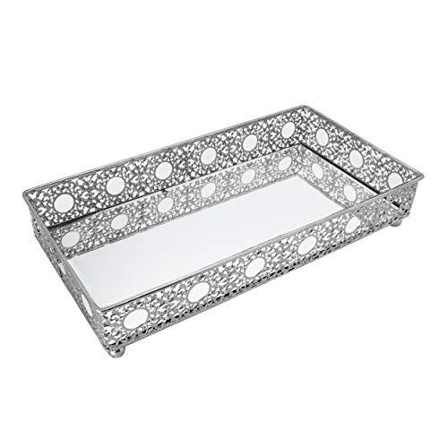 Bathroom Vanity Tray, Decorative Tray, Mirror Tray, Perfume Collection Tray, Candle Tray
