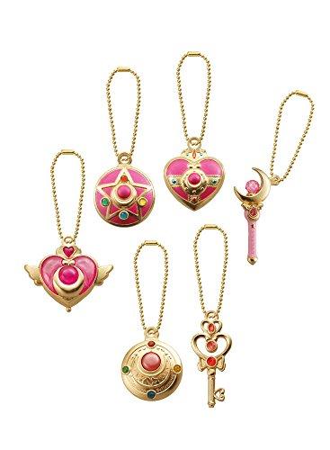 Bandai Sailor Moon Sailor Moon Set Portachiavi per Adulti, 84580