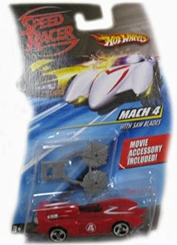 Hot Wheels Speed Racer Mach 4 Street Car Hard to Find Movie Accessory Included