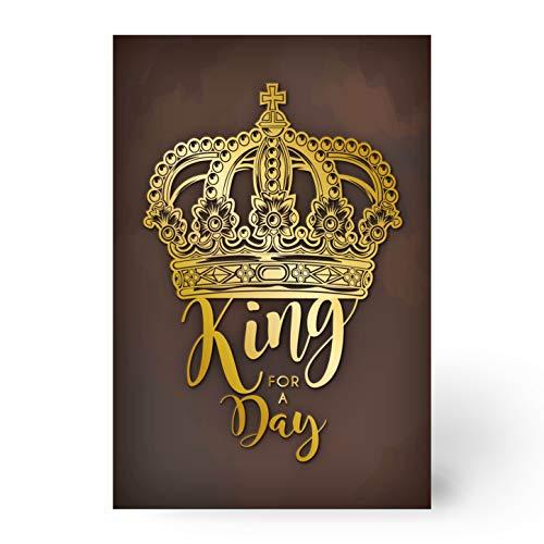 Biglietto auguri compleanno (KING FOR A DAY)