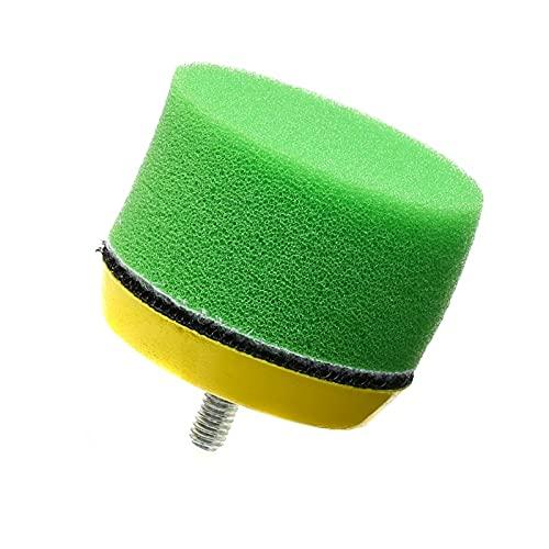Lixiaonmkop 16 teile/satz Polierkissen für Auto Polierer 2 Zoll 50mm Polierkreis Puff Pad Tool Kit für Auto Polierer Wachs Pulidora Auto (Material : 50mm)