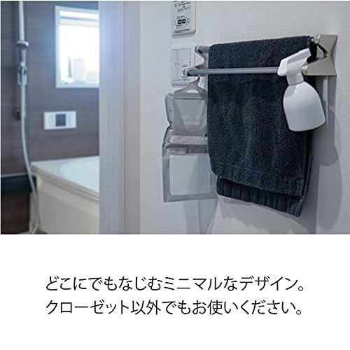 【cararino】除湿剤クローゼット吊り下げ型湿気取り乾燥除湿パックハンガータイプカラリノ(1)
