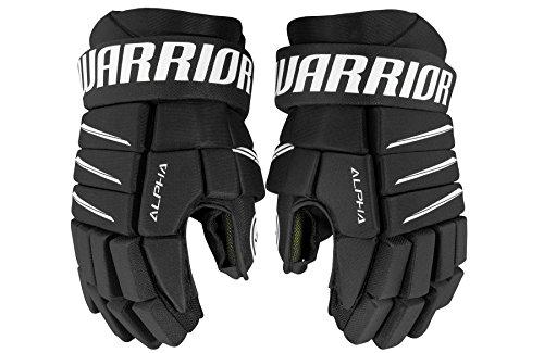 Warrior Senior Alpha Qx5 Handschuhe, QX5 Senior Glove BK Black 13, Schwarz, Size 13