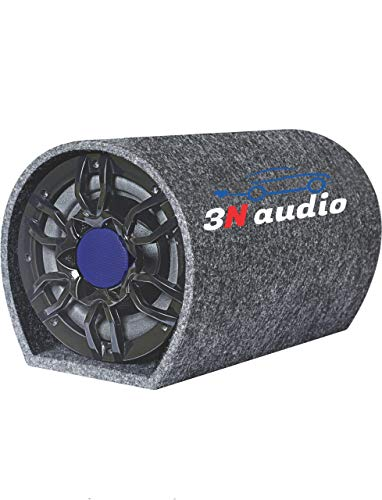3N AUDIO 10 Inch Active Bass Tube Subwoofer with Inbuilt Amplifier 5800W