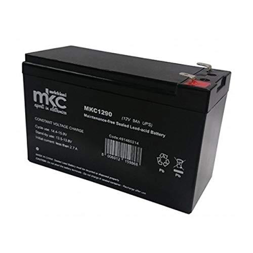 Setik - Batería de plomo ácido 12V 9.0Ah - Setik - BAT12V-9