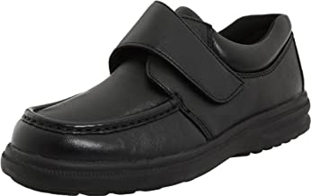 Hush Puppies mens Gil oxfords shoes, Black Leather, 8 US