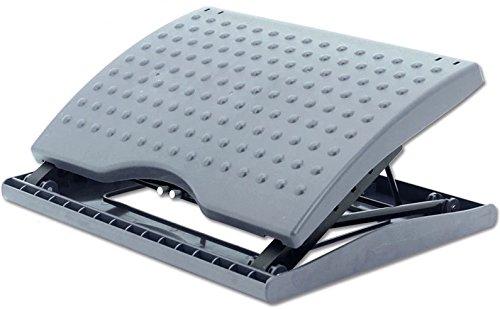 Adjustable Footrest for Home Office, Or Under Desk Ergonomic Massaging Foot Rest (Footstool) (Adjustable Angle)