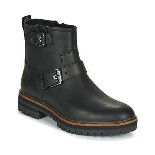 TIMBERLAND LONDON SQUARE BIKER Enkellaarzen/Low boots dames Zwart Laarzen