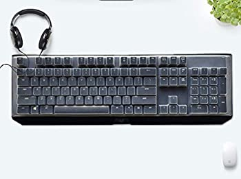 Transparent Clear Silicone Keyboard Cover Protectors for Razer BlackWidow X Chroma RGB Mechanical Gaming Keyboard 104 Key