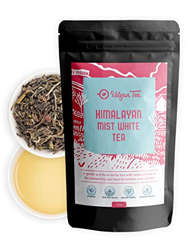 Udyan Tea Himalayan Mist White Tea, 100 Gm (40 Cups), Fresh...