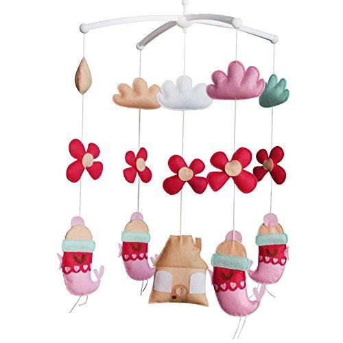Produits pour bébé Décor de chambre d'enfant Sommeil Jouet musical à suspendre Mobile pour berceau (Design créatif)