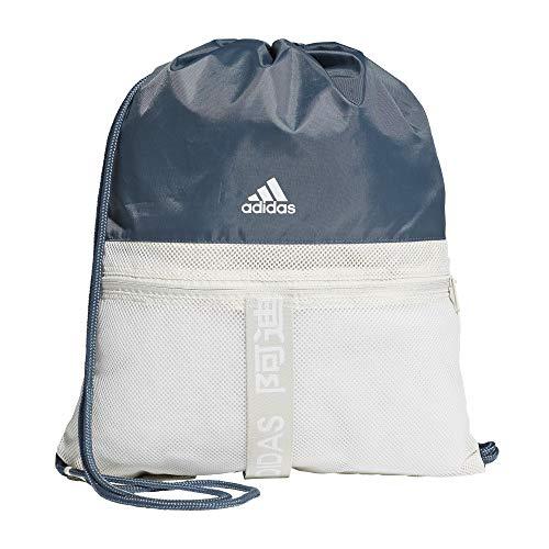 adidas 4ATHLTS GB Gym Sack, Hombre, legblu/orbgry/White, NS