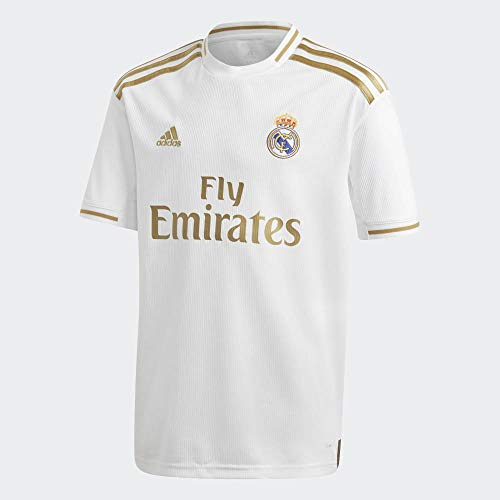 adidas Real Madrid Home Jersy, T-Shirt de Football à Manches