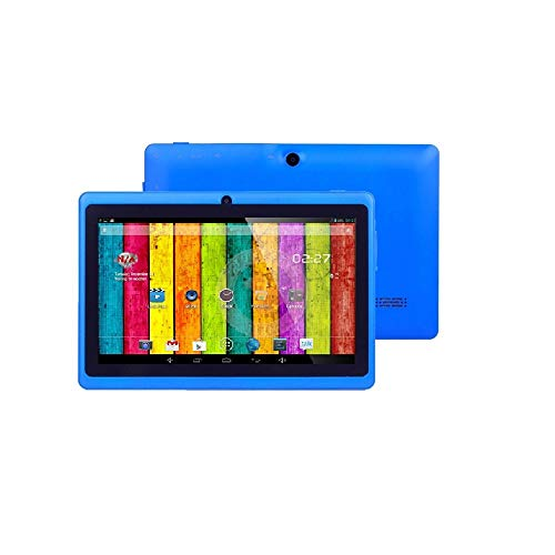 ibowin M710 7 Pollici 3G Tablet Phone 1024x600 IPS 1G RAM 8G ROM MediaTek Quad-core CPU, Unlocked Cellular 3G WCDMA/2G GSM 2SIM Tablet PC WIFI Bluetooth GPS (Grigio)