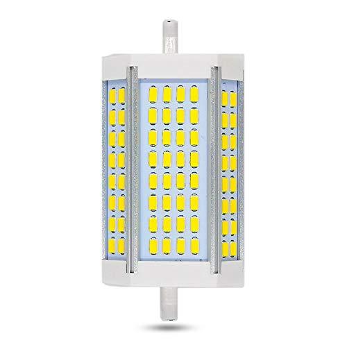 R7S LED 118mm 30W Dimmbar, Kaltweiß 6000K, Ersatz für R7S J118 250W-300W Halogen, 3000LM, 200-Grad-Beleuchtung, Lampen R7S 118mm LED Dimmbar Lampen als für Stehlampen/Deckenstrahler, 1er-Set