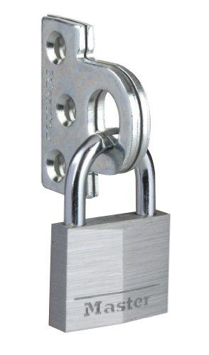 Master Lock 914060EURD Argollas de Cerradura de Armarios, Plateado