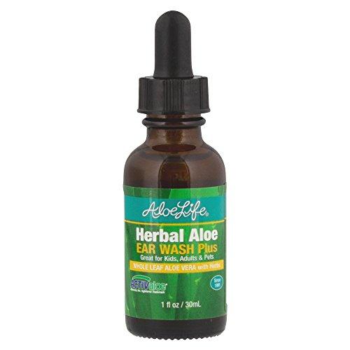 Aloe Life - Herbal Aloe Ear Wash Plus, Natural Help for Ear...