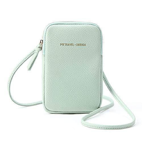Mujer Mini Funda para teléfono móvil Kleine Bandolera clásico Messenger Bags Bolsa...