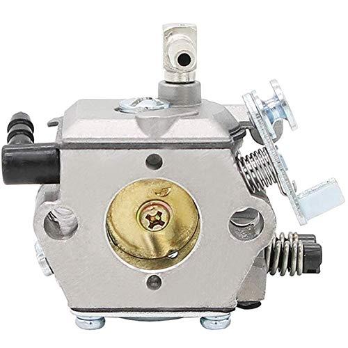 Kettensägenvergaser für Stihl 028 028AV Kettensägen Walbro WT-16B Vergaser Kettensäge Motorteile durch FENGL ZTYS (Color : Silver)