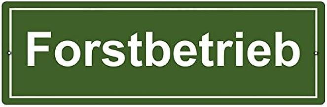 Kunststoffschild Mit Saugnapf Autoschild Forstbetrieb Rahmen Innenraum Auto Auto