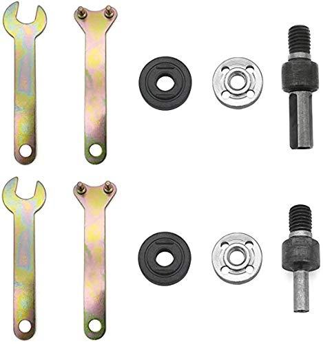 SJUNJIE 10 Piezas Adaptador de ConversióN de Taladro Manual M6 M10 Biela de Convertidor de Taladro Adaptador de Amoladora Angular para El Esmerilado EléCtrico Corte De Azulejos Metal