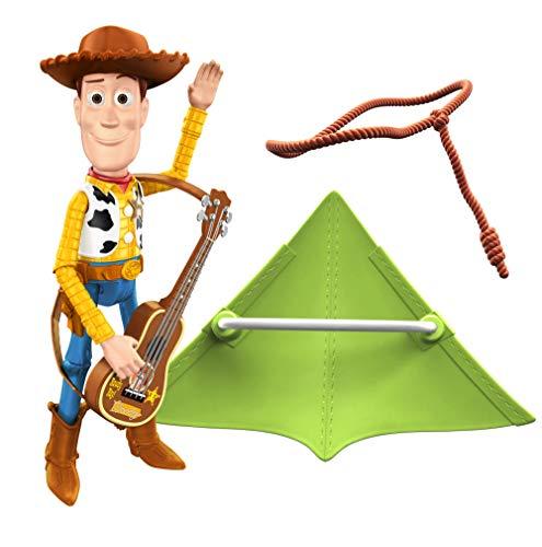 Toy Story- Personaggio Woody con Chitarra Giocattolo per Bambini 3+ Anni, GJH47