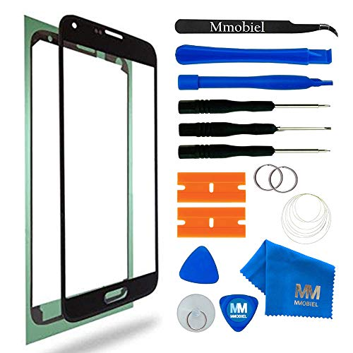 MMOBIEL Kit de Reemplazo de Pantalla Táctil Compatible con Samsung Galaxy A7 A700 (2015) Series (Negro) con Herramientas