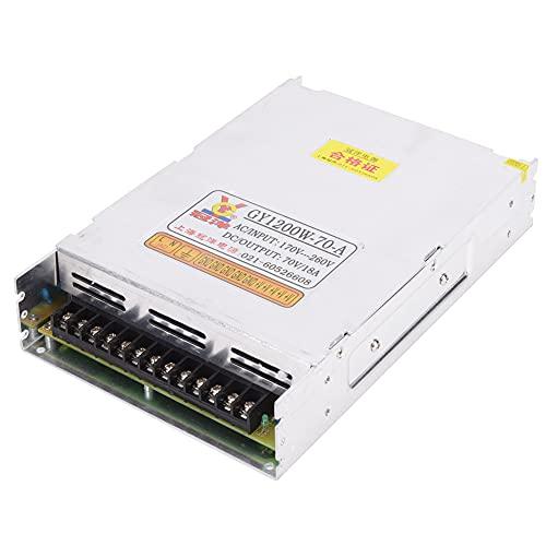 Adaptador de controlador de potencia de conmutación 70V 18A 1200W para accesorios de repuesto de iluminación de máquina de grabado Accesorios de repuesto