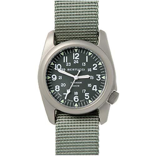 Bertucci A-2T Vintage Titanium Green Dial Men's watch #12030
