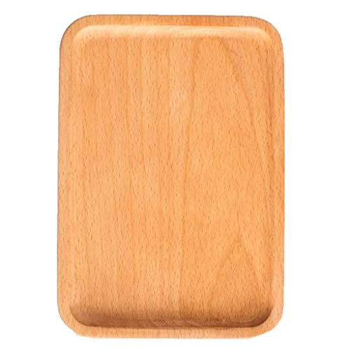 Bakplaat Met Handvat Pizza Pan Pizza Tray Broodplank Houten Pizza Board Western Steak Plaat Cake Plaat For Kitchen (Size : 20 * 14 * 1.5cm)