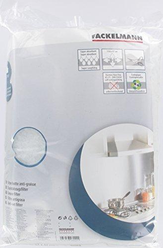 Topfilter Filtro Grasa Universal 114X47Cm, Aluminio