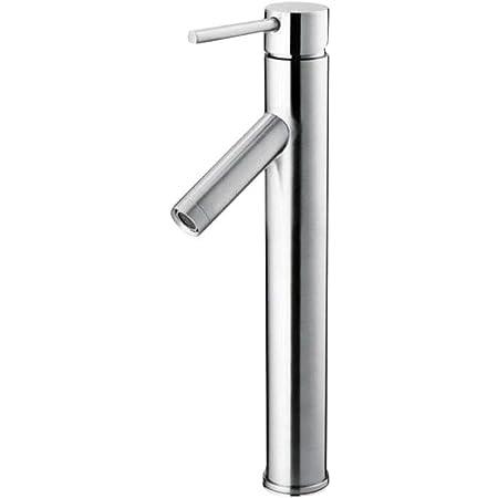 Glacier Bay Single Hole 1 Handle High Arc Bathroom Vessel Faucet In Chrome Touch On Bathroom Sink Faucets Amazon Com
