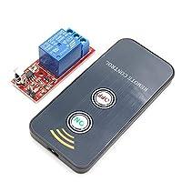 SHENLIJUAN 1チャンネル赤外線リモートスイッチリレードライバモジュールボード5V +アクティブなリモートコントローラー