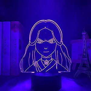 3D Night Light for Kids,Lamp Katara Avatar Last Airbender for Home Decor Led Avatar Room Decor Light Katara for Birthday/Xmas Gift
