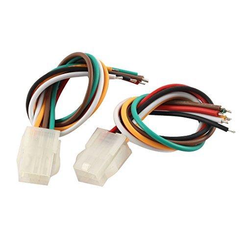 DealMux 6 Clavijas de 4,2 mm Pitch 5557 Conector Macho Cable 2pcs...