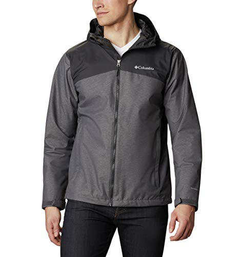 Columbia Men's Ridge Gates Jacket, City Grey/Denim/Shark, Small