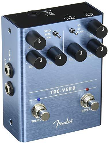 Fender Tre-Verb Reverb/Tremolo · Pedal guitarra eléctrica