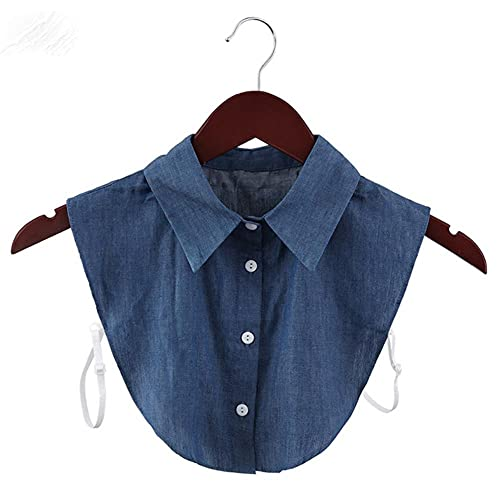 1 pieza de moda cl¨¢sica de encaje de algod¨n cuello falso Vintage blusa de solapa desmontable collares falsos mujeres hombres ropa Accesorios-2-1, Polonia
