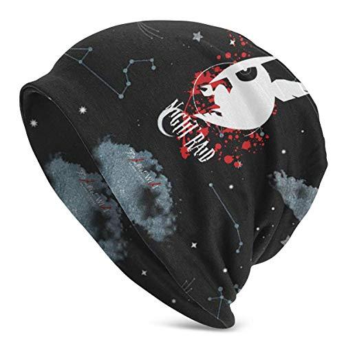 IUBBKI Akame Ga Kill Night Raid Beanie Knit Sombreros para hombres Mujeres Skull Cap