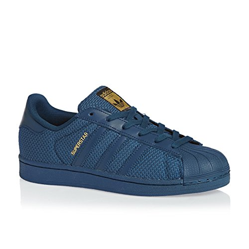 adidas Originals Superstar J Sneaker S76624 Tech Steel Gr. 35,5 (UK 3,0)