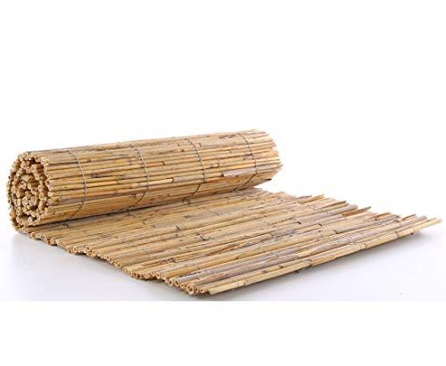 bambus-discount.com Bastelmatte Schilfrohr 40 x 100cm - Kreativ und eindrucksvoll dekorieren mit Schilfrohrmatte zum Basteln
