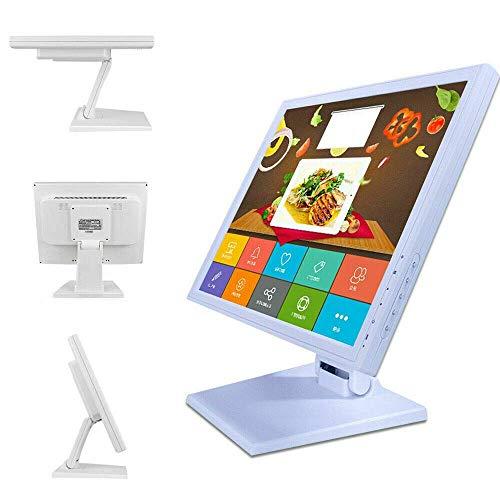 17 Zoll LED HDMI Touchscreen Monitor POS Kassensystem Kassenmonitor Restaurant Multitouch-Monitor Full-HD Neigbar Für Wie der Touchscreen in Restaurants Verwendet Wird