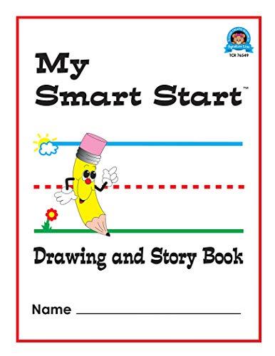 Teacher Created Resources (76549) Smart Start Drawing & Story Book 1-2 Journal