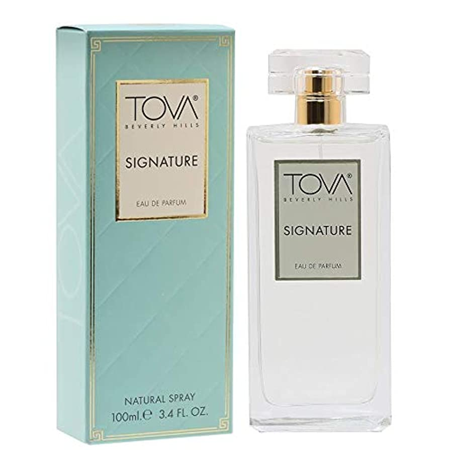 瞳ポジティブハンドブックTova Signature Fragrance (トヴァ シグネチャ- フレグランス) 3.4 oz (100ml) EDP Spray (New Package 新デザイン)