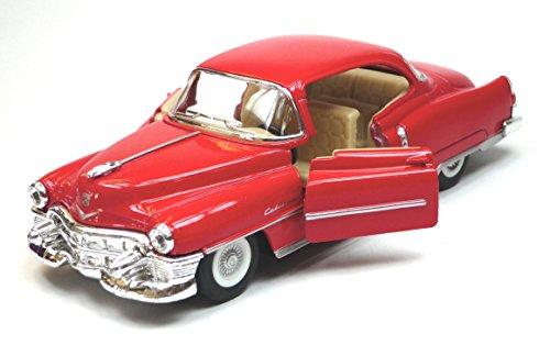 Generisch Kinsmart Modellauto kompatibel mit Cadillac Series 62 Coupe rot ca. 12,5 cm