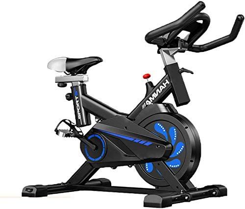 SXTYRL Bicicleta Ejercicio, Correa de conducción interior Ciclismo Bike, Pantalla LCD para entrenamiento cardiovascular en el hogar