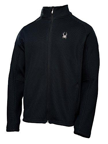 Spyder Men's Foremost Full Zip Heavyweight Core Sweater Black L