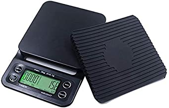 Caffeinehouse777 – Digital Coffee Scale with Timer- Baking Table Weighting V60 Drip Coffee Mini Digital Electronic Kitchen...